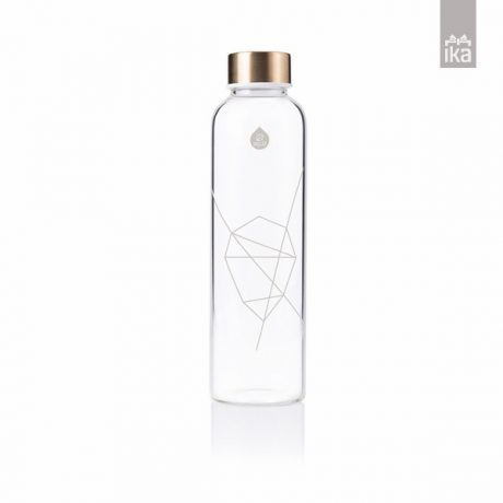 Equa steklenička Mismatch | Bela | White | Equa bottle