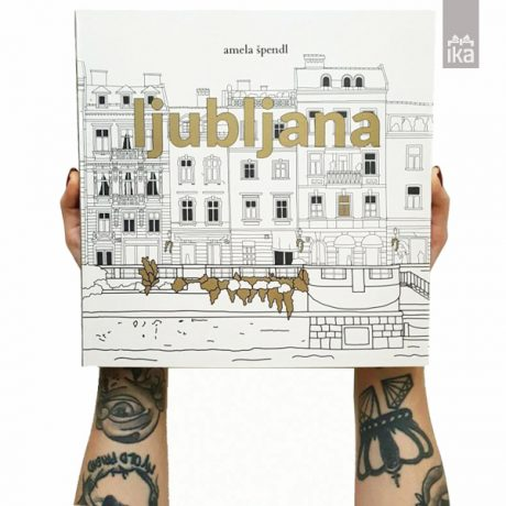 Urbana pobarvanka Ljubljana