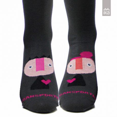 Transporter nogavičke Princesa Pink | Socks