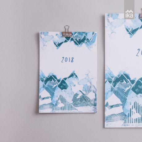 Namizni koledar 2018 | Klavdija Zupanc | Calendar 2018