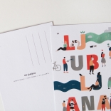 Razglednica | Postcard | Oh! Ljubljana | Lea Zupančič