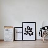 Quotelife artprint