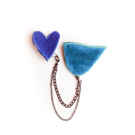 Nakit iz keramike Ptički | Ceramic Jewelry Birds