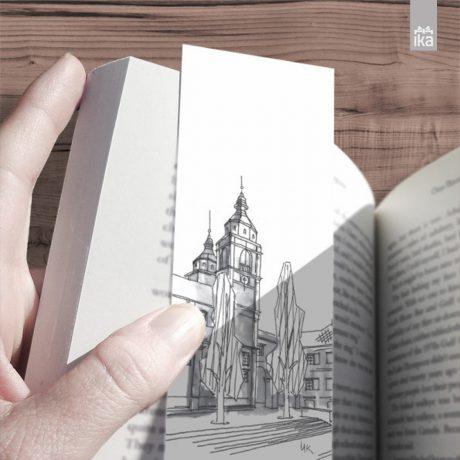 Kazalke Ljubljanski trgi | Bookmarks Squares of Ljubljana
