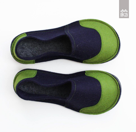 Šolski copati | Woolen felted slippers for school