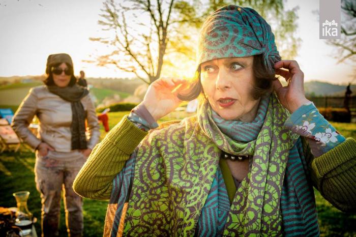Šal | Ksenija Baraga | Knitted scarf