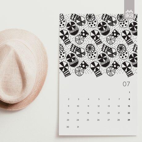 Koledar Klun | Calendar Klun