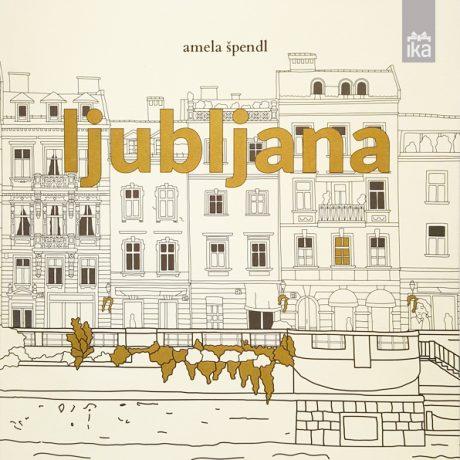 Urbana pobarvanka | Urban coloring book | Ljubljana