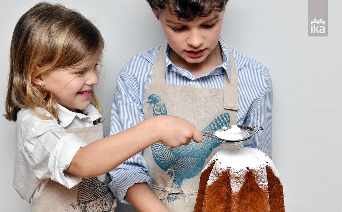 Otroški predpasnik   Kid's apron   Jagababa