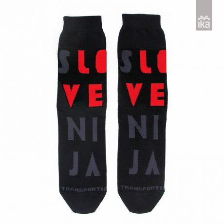 Transporter nogavičke Slovenija blackred | Socks | Nogavice
