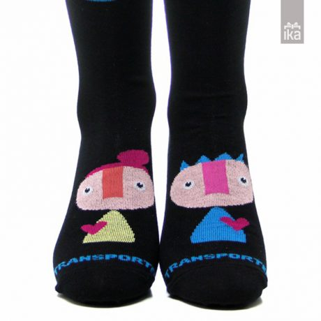 Transporter nogavičke Princ blue | Socks