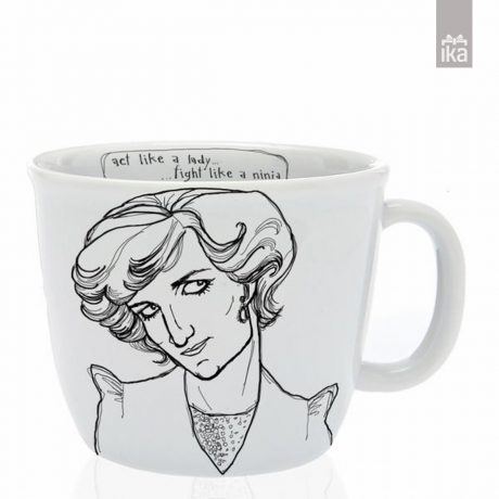 Skodelica Diana| Cup with personality Diana | Polonapolona