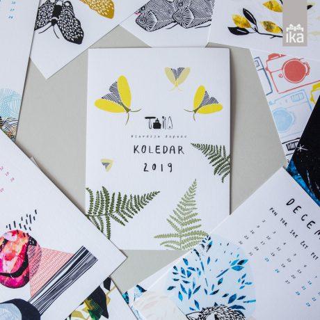 Calendar 2019 | Klavdija Zupanc