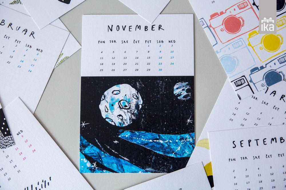 Koledar 2019 | Klavdija Zupanc | Calendar 2019