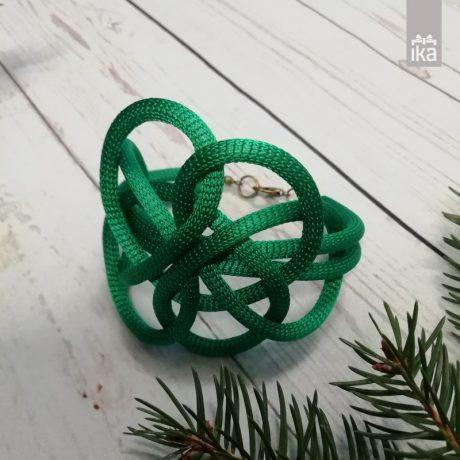 Pletena zapestnica Lussli