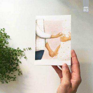 Hands Collection   Voščilnica   Card