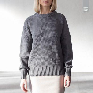 Pleten pulover | Mila Vert | Knitted pullover