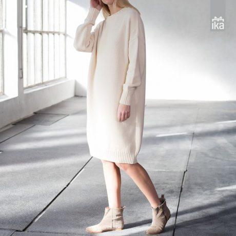 Knitted dress Mila Vert