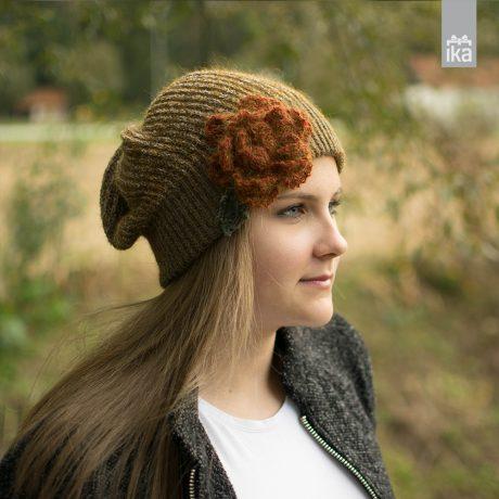 Kapa z rožo | Ksenija Baraga