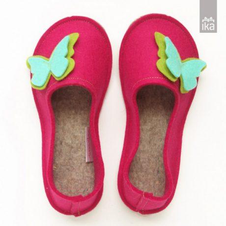 Šolski copati | Ursanina | School felted Slippers