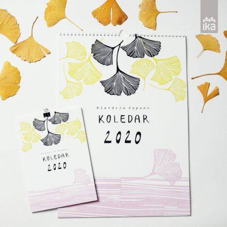 Koledar 2020 | Klavdija Zupanc | Calendar