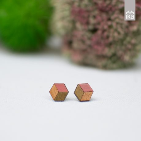 Pararok leseni uhani | Wooden earrings
