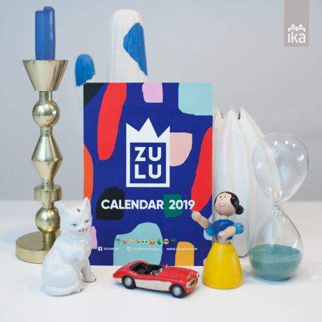 Zulu Zion koledar 2019 | Calender 2019