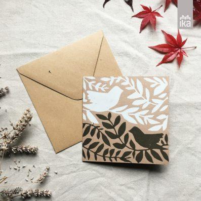 Praznična voščilnica | Christmas card | Klavdija Zupanc