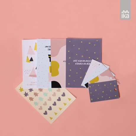 Tara Drev | Praznične Cukrarije | Holiday Stationary set