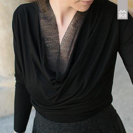 Top MILA z dolgimi rokavi / with long sleeves