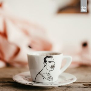 cappuccino mug/saucer