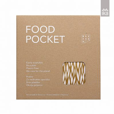 Food pocket | Povoščena vrečka | Waxed bag