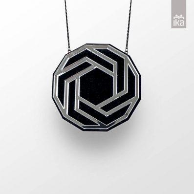Ogrlica FLO HEXAGON | Necklace FLO HEXAGON