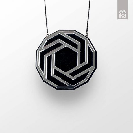 Ogrlica FLO HEXAGON | Necklace FLO HEXAGON