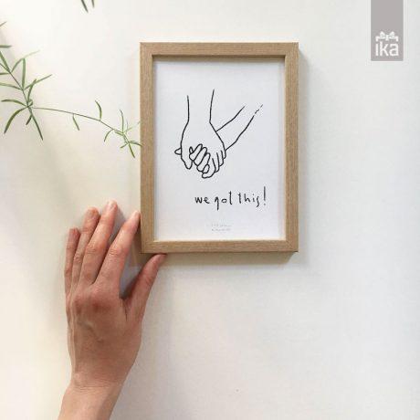 Artprint NINA K