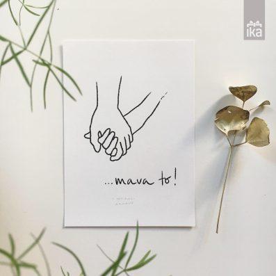 artprint 'Mava to'
